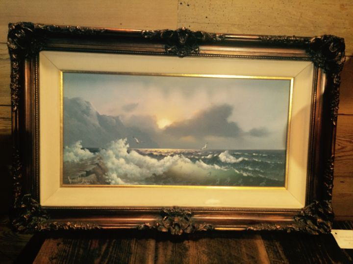 Seascape By Wendell Brown - Summers Art Boutique