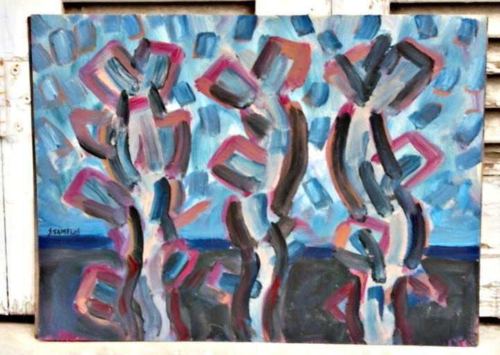 Three Figures - Gallery Kyriakos Stamelos