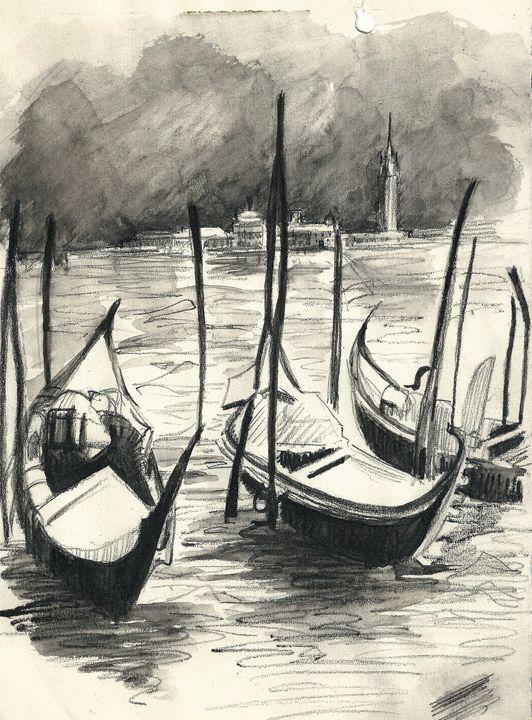 'Venice' By Winifred Francis - PowysArt