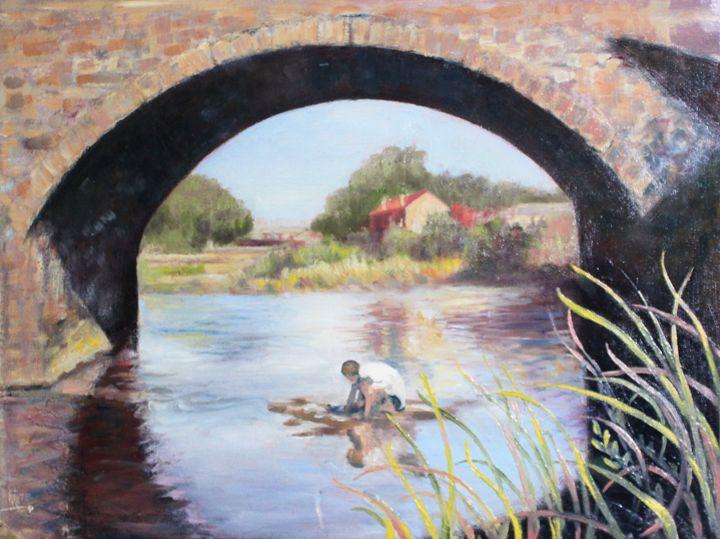 'Under the Bridge' By W Francis - PowysArt