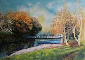 'Old Swing Bridge' By W F