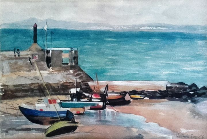 'Awaiting the Tide' - PowysArt