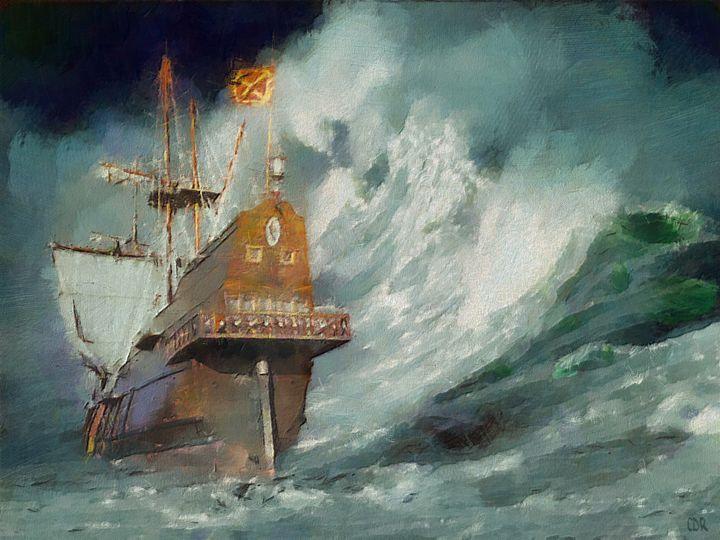 Stormy Sea - CDR Digital Arts