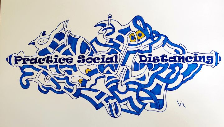Practice Social Distancing - gvp3