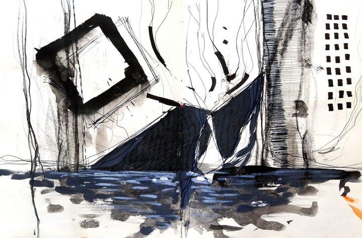 """""""ILLUSTRATION #41   SKETCHBOOK Nº11 - Dana Krystle"""