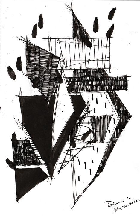 Monochrome Sketch Book 2_ Sketch  7 - Dana Krystle