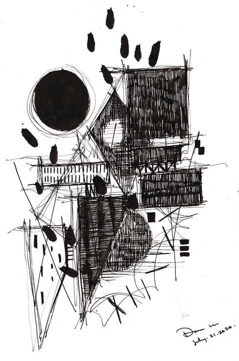 Monochrome Sketch Book 2_ Sketch 10 - Dana Krystle