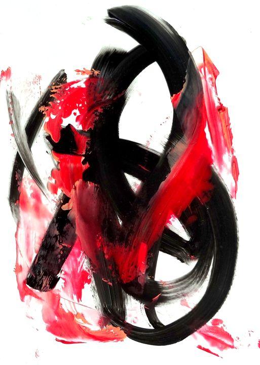 Art series |Translucent in strokes c - Dana Krystle