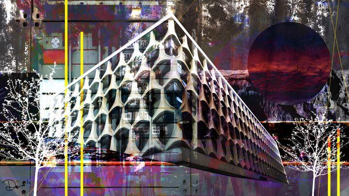 Digital Architecture Collage _ 13 - Dana Krystle
