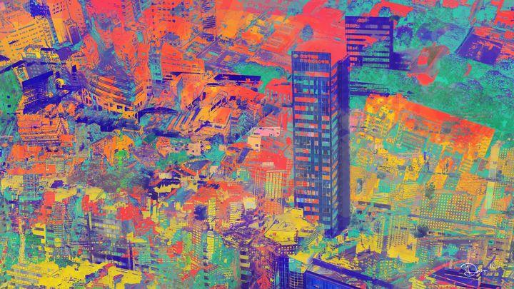 Architecture Graphic Design_ Tokyo I - Dana Krystle