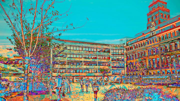 Architecture GraphicDesign_ Freiburg - Dana Krystle