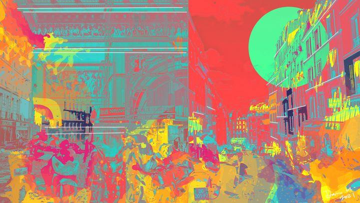 Architecture Posters | Paris, France - Dana Krystle