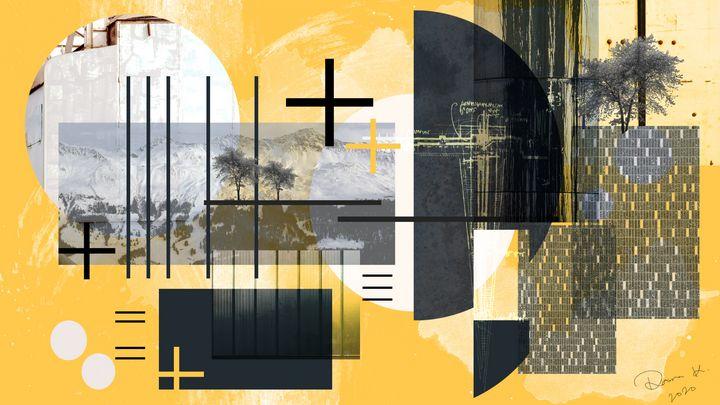 Digital Arch Collage 1 - Dana Krystle