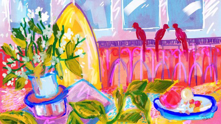 Pink Room - Dana Krystle