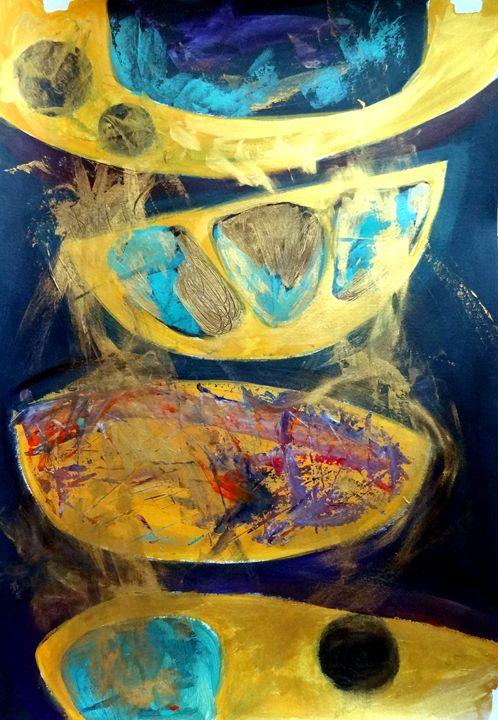 Gold Pots - Dana Krystle