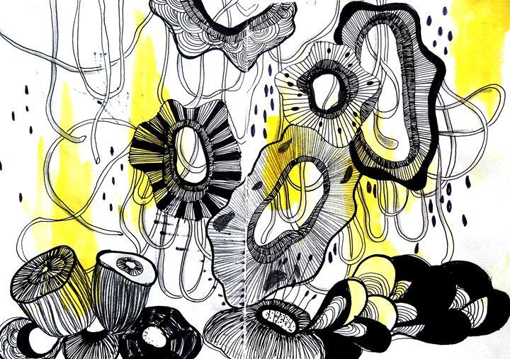 Art series | Abstract Illustrations - Dana Krystle