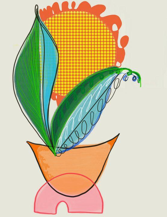 Sunshine | Digital Painting - Ravina Oberoi Artwork