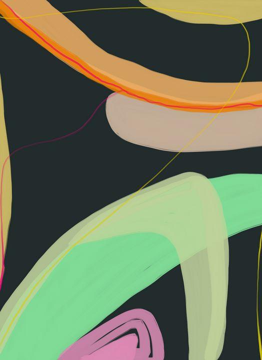 Abstract Digital Painting - Ravina Oberoi Artwork