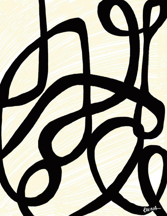 Network, Abstract Digital Art - Ravina Oberoi Artwork