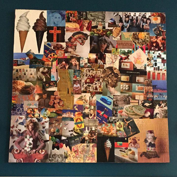Ice Cream Americana - Collages