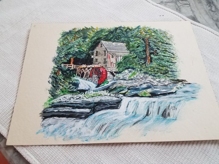 The Old Grist Mill - Brenda Faye Griffith
