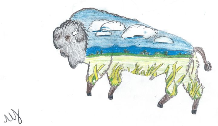 Buffalo with the World Inside Him - Molly jackson