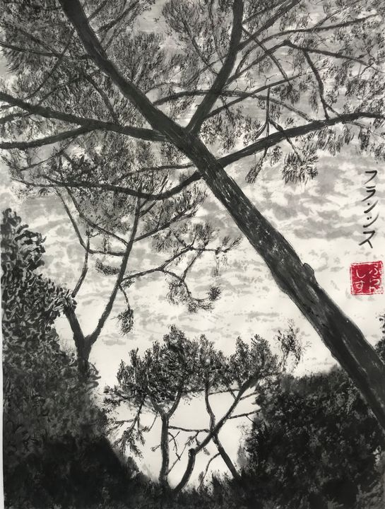 vue du cap ferret (vendu) - FURANSHISU