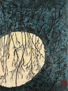 reflets de forêts