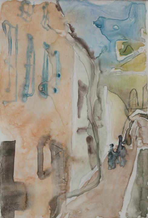 GATES OF DAWN - left - Vaidoto art