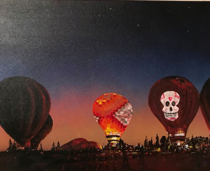 Skull candy Balloon - pcartistry