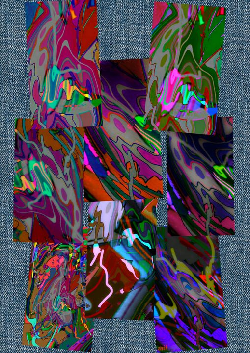 The Abstract Collage - Arif Modin
