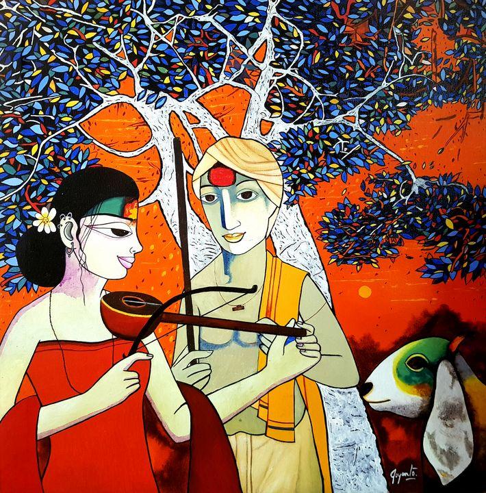 Brahmin Innocence Gossip - Joyanto Art