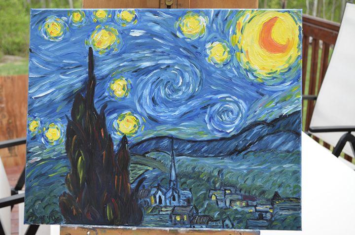Starry night - Zhenya's art