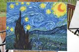 Starry night reproduction
