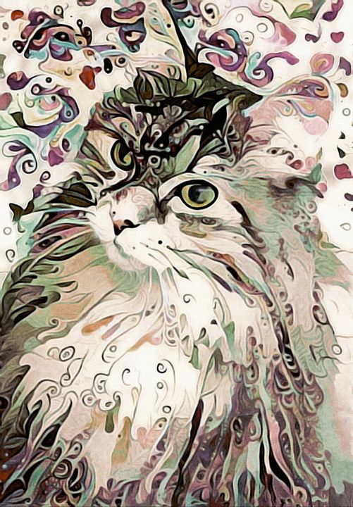 Bombalurina - Susan Maxwell Schmidt Visual Fine Art