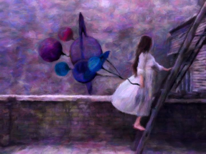 Jupiter's Daughter - Susan Maxwell Schmidt Visual Fine Art
