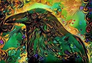 Odin's Raven - Susan Maxwell Schmidt Visual Fine Art