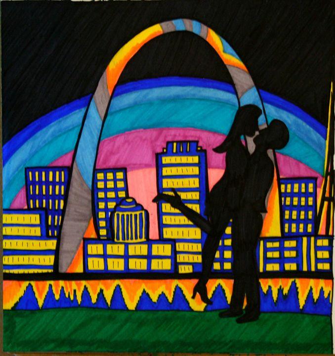 St. Louis Love - Kellbell's Creations