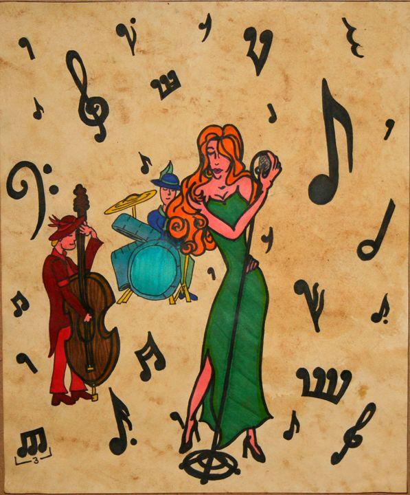 Jazz Siren - Kellbell's Creations