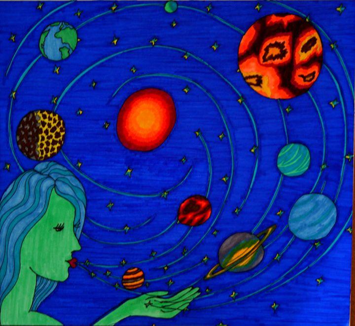 Lady Universe - Kellbell's Creations