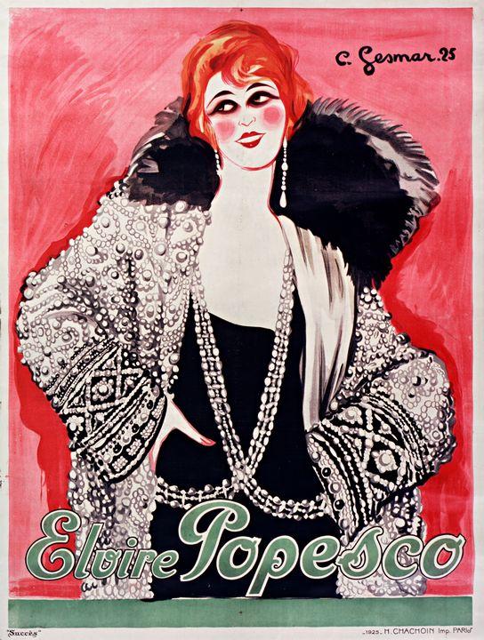 Elvire Popescu Poster - Richard Deen