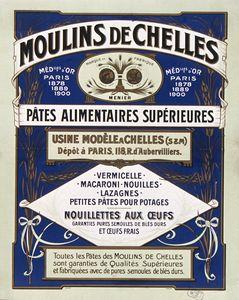 Affiche / Moulins de Chelles