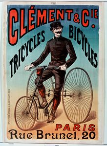 Clement Bicycles Advertising