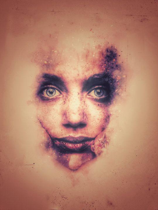 Abstract face blind 2 - Richard Deen