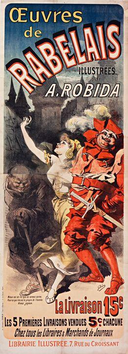 RabelaisTheater Affiche - Richard Deen