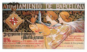 Old Sign / Barcelona  - Bellas Artes