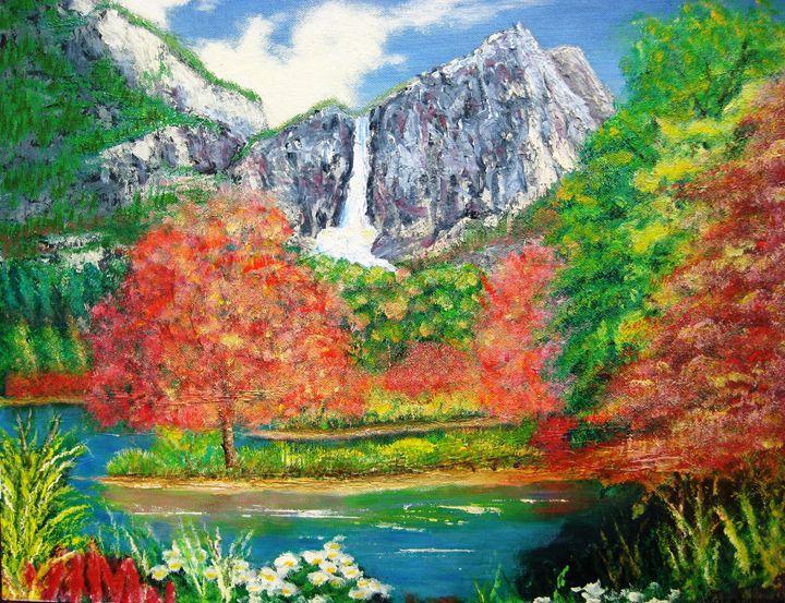 Water Falls - Creative Artwork