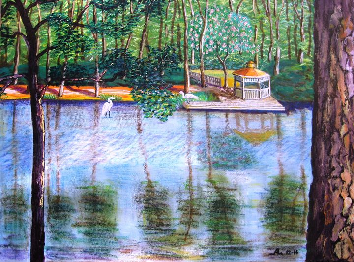 Walden Pond - Creative Artwork