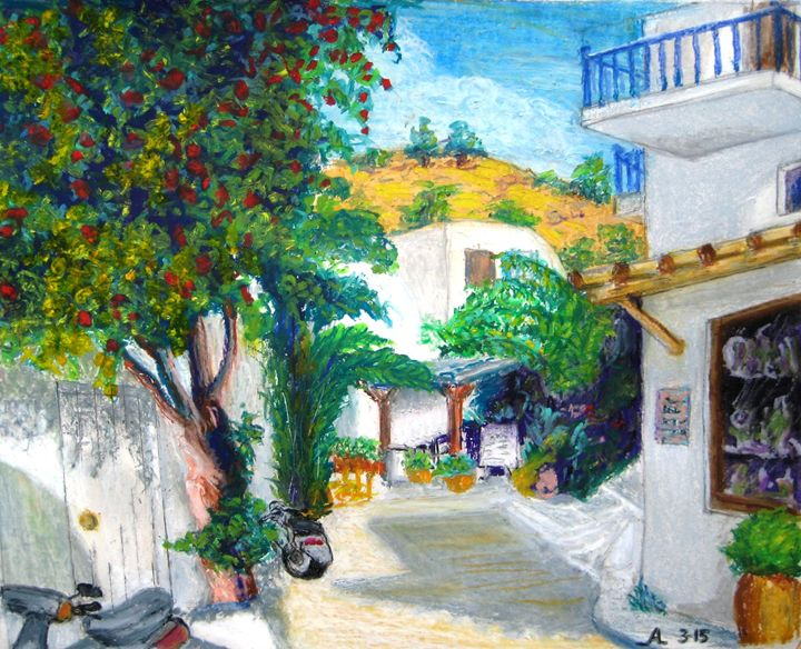 Mykonos - Creative Artwork