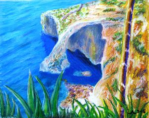 Malta Grotto - Creative Artwork